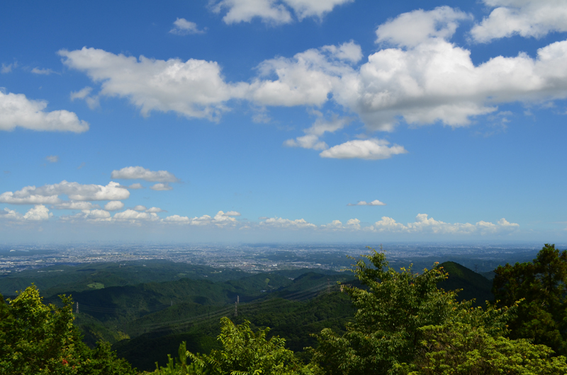 御岳-日の出山ルート