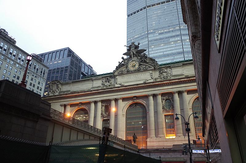 アメリカの旅2014:グランドセントラル駅