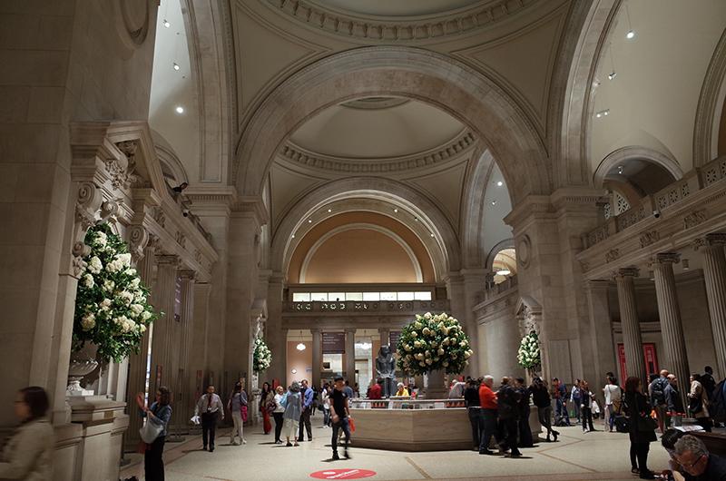 アメリカの旅2014:メトロポリタン美術館エントランスホール