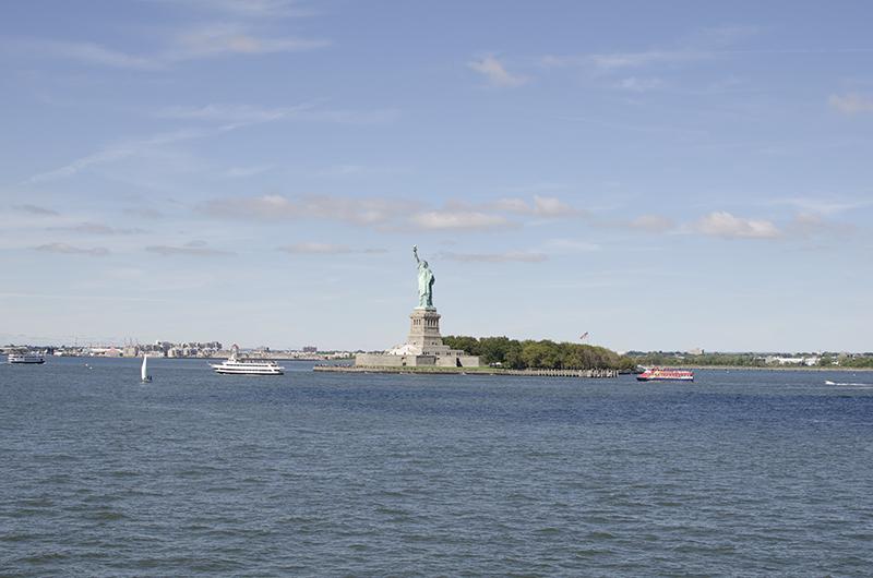 アメリカの旅2014:自由の女神