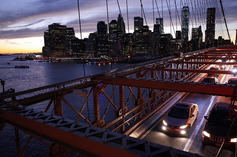 アメリカの旅2014:ブルックリブリッジ
