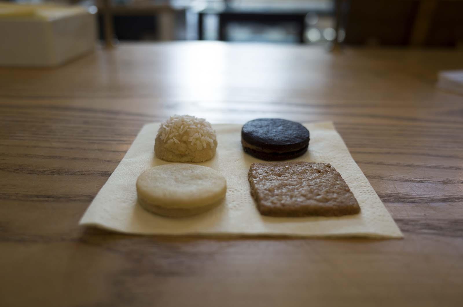 アメリカの旅2014:One Girl Cookies ・クッキー