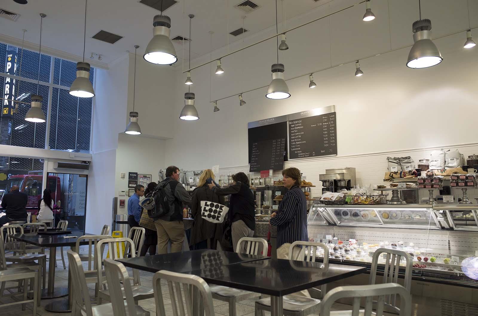 アメリカの旅2014:ディーンアンドデルーカで朝食・店内