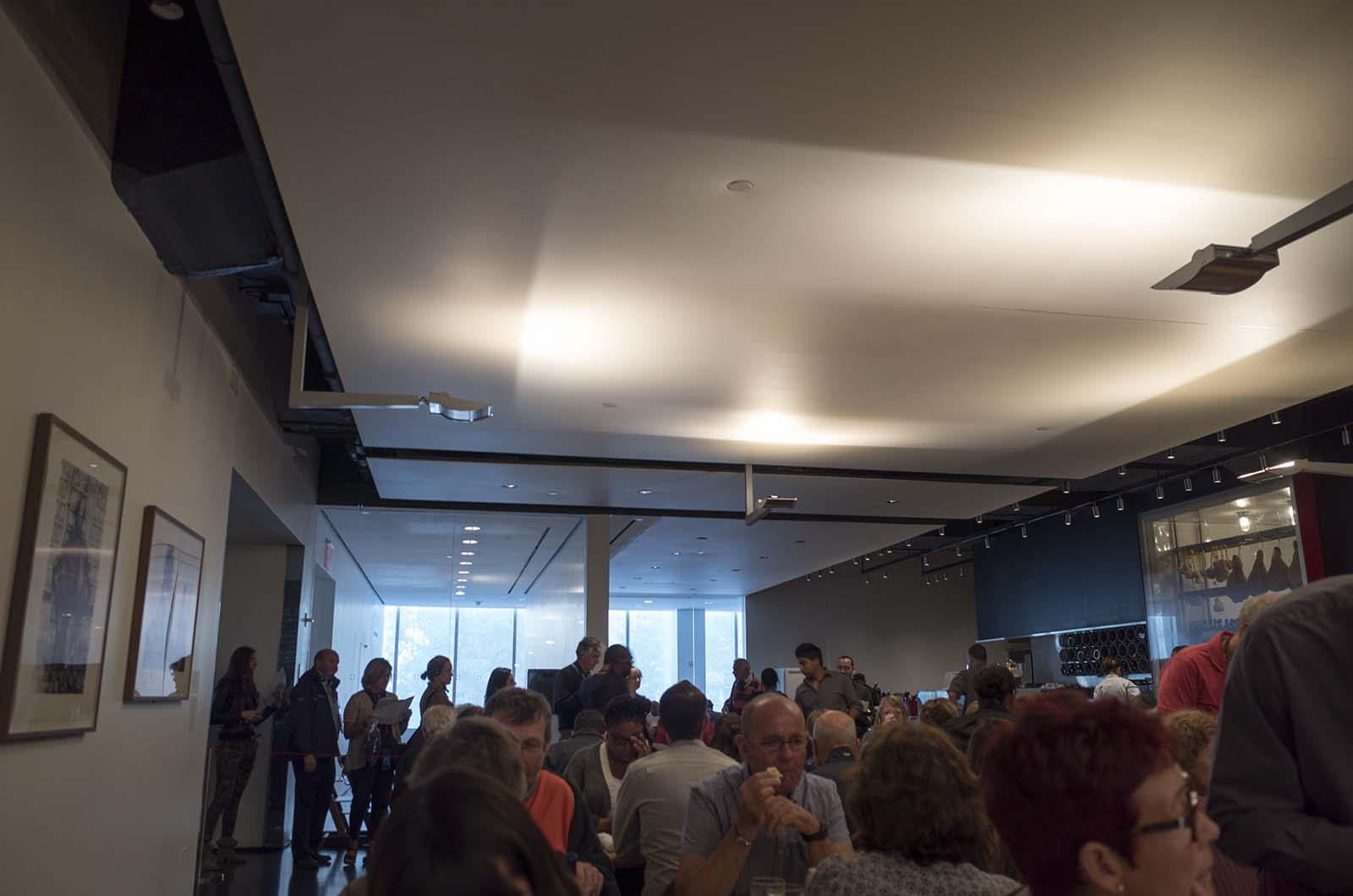 アメリカの旅2014:MOMAのカフェ