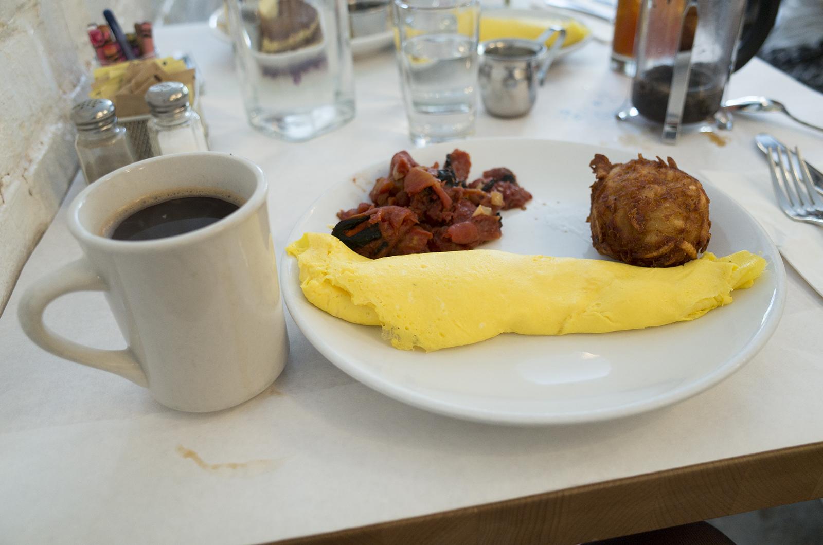 アメリカの旅2014:eggで朝食