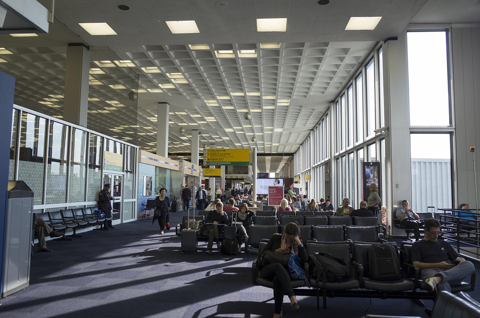 アメリカの旅2014:JFKterminal2すべてデルタ航空