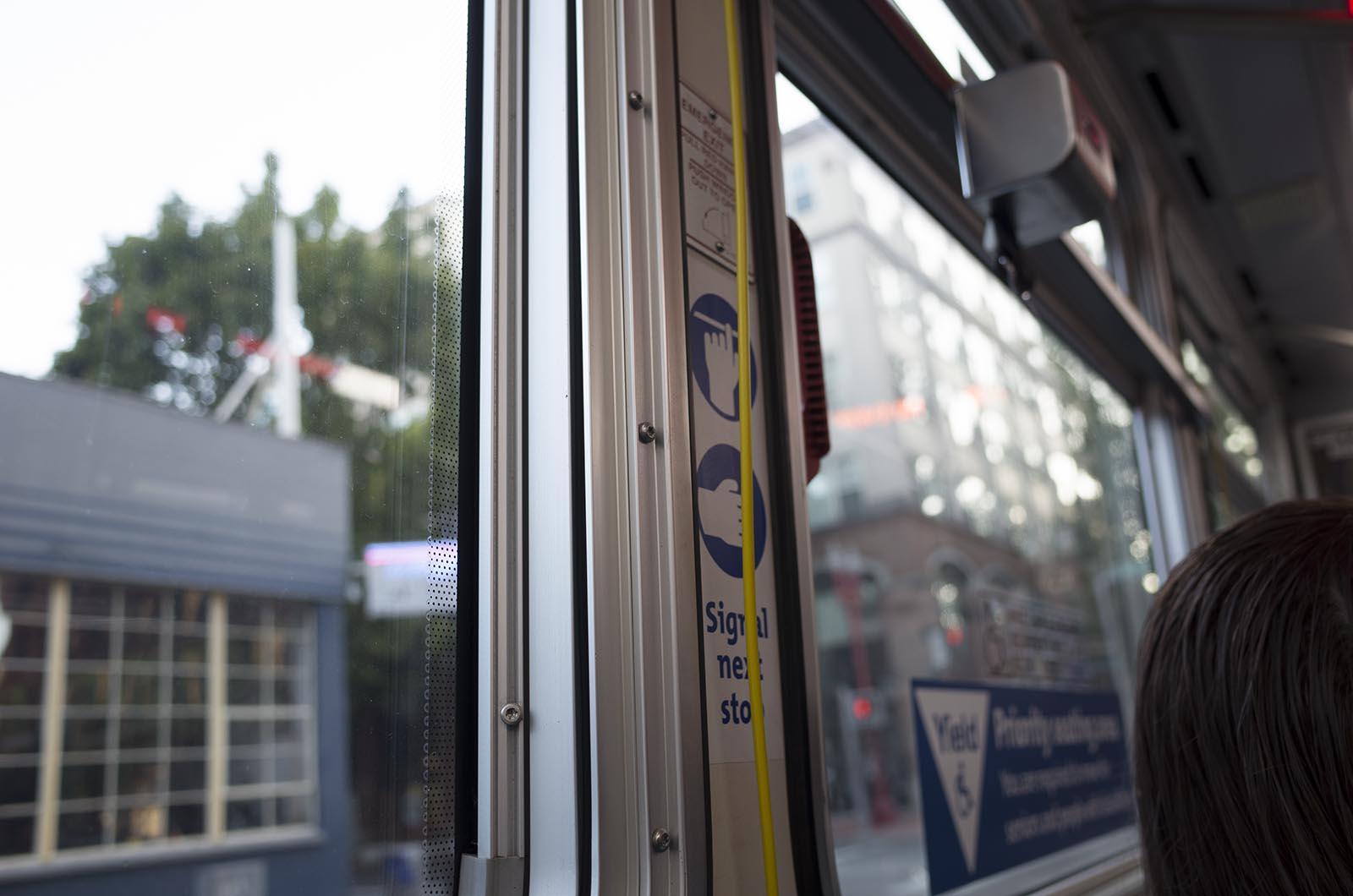 アメリカの旅2014:Portlandの路線バス