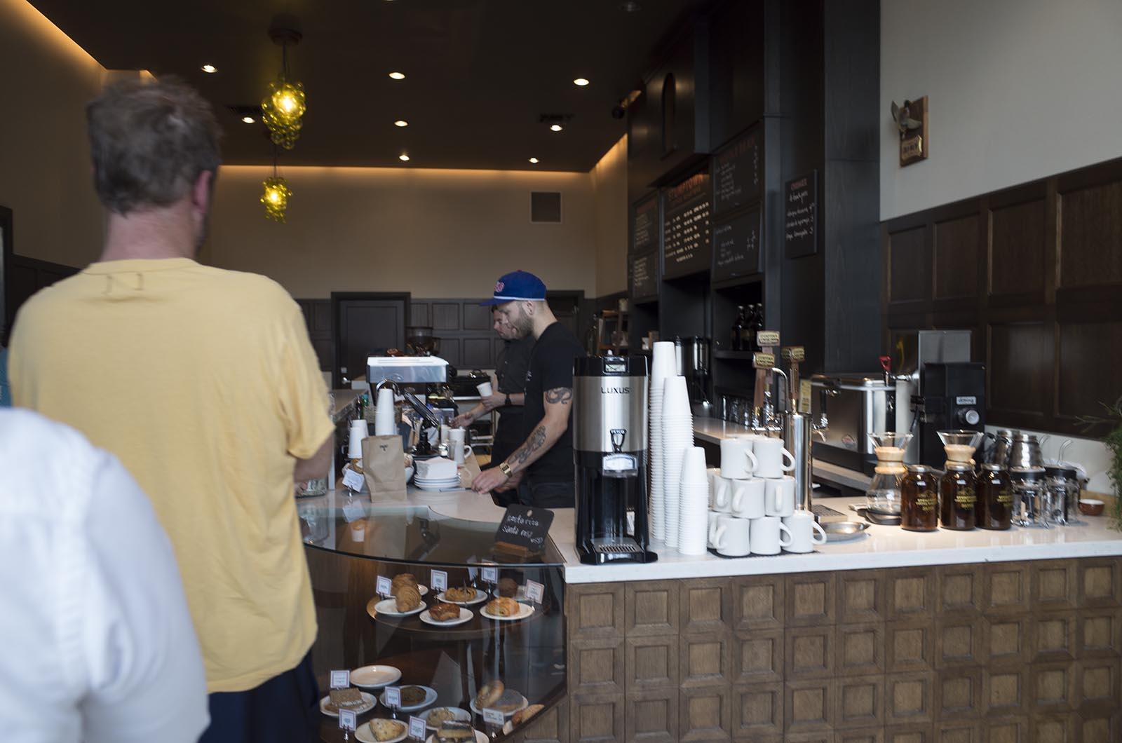 アメリカの旅2014:スタンプタウンコーヒー