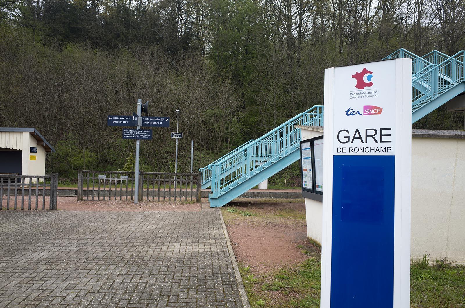 ヨーロッパ鉄道建築の旅'16:5日目 バーゼルからロンシャンの礼拝堂を電車だけで行く