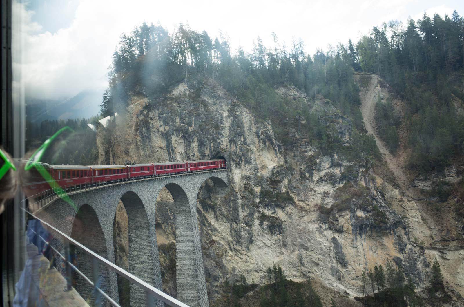 ヨーロッパ鉄道建築の旅'16:7日目 ベルニナ急行でクールからティラーノへ・ミラノに戻る