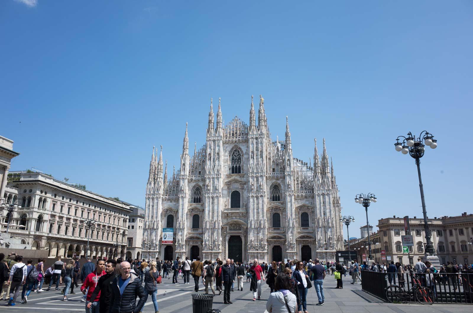 ヨーロッパ鉄道建築の旅'16:8日目 ミラノ観光〜最後の晩餐・ペックでランチ