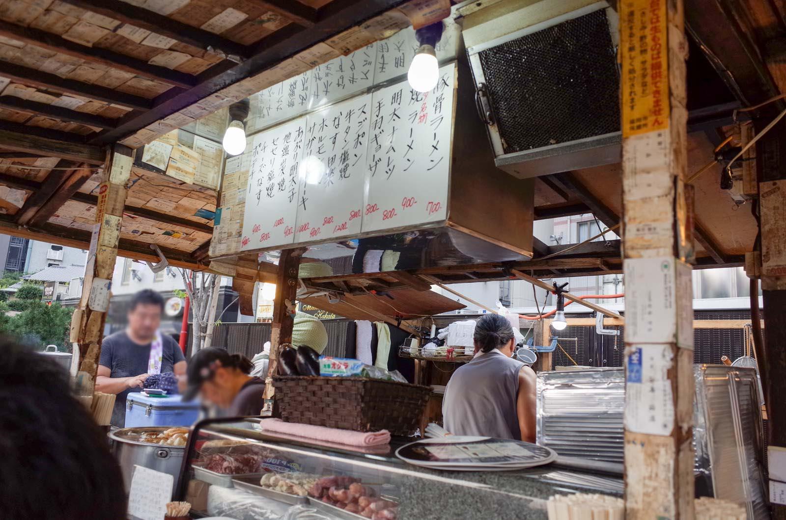 福岡の名店・河太郎でイカ刺し