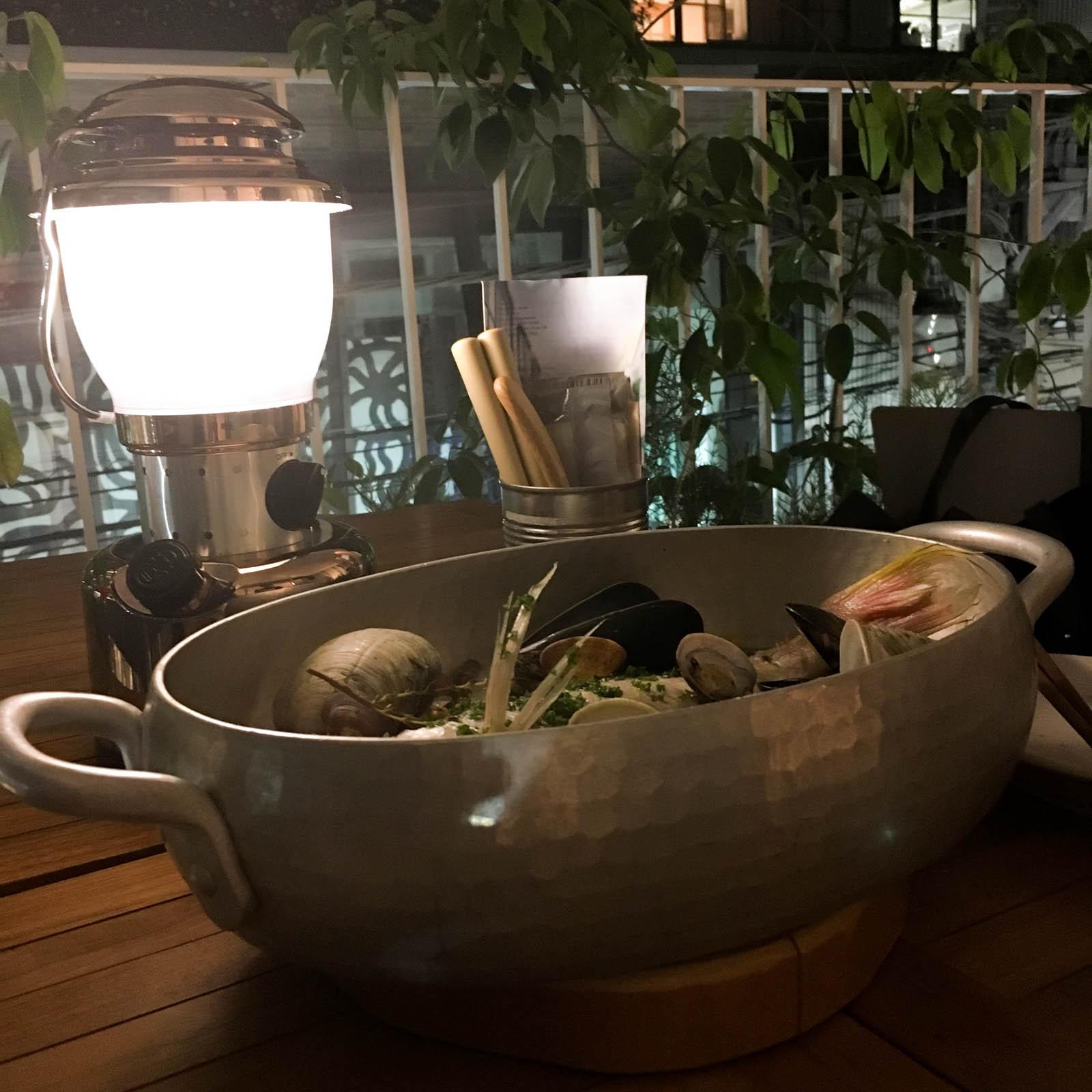 自由が丘「also Soup Stock Tokyo」のアクアパッツァが美味しい!