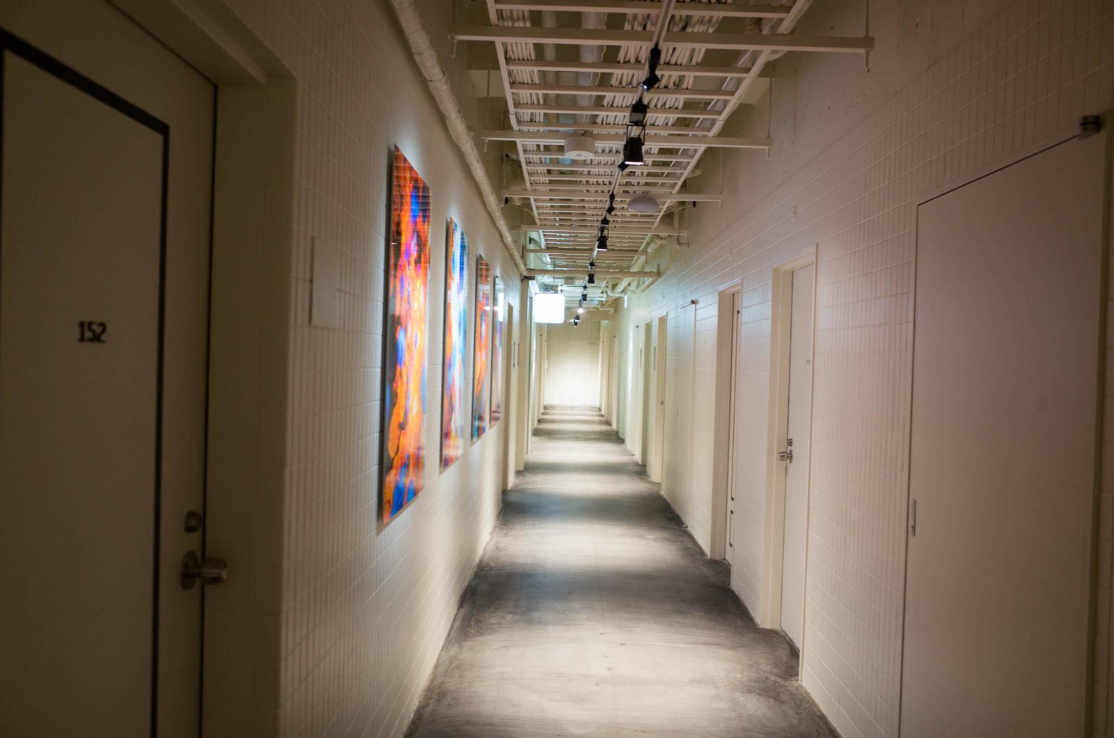アートなホテル・アンテルーム京都の新館に泊まった。